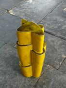 Moving-up-into-Yellow-67x34x32-cm-2013