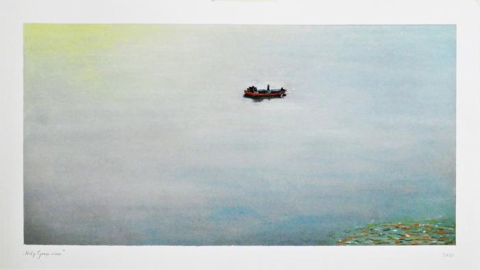 Holy_Ganga_River_pastel_70_x_40_cm