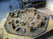 The-unglazed-city-in-wet-clay-160x160cm