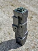 Lingam-IV-ceramics-bronze-115x20x20-cm-2010